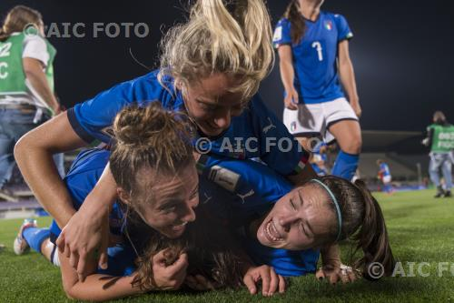 Italy Cecilia Salvai Italy Aurora Galli Italy 2018 Fifa Women s World Cup France 2019 Qualifying Round