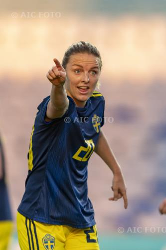 Sweden 2020 Algarve Cup 2020 Round of 16, 4°Match