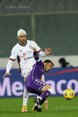Fiorentina Charalampos Lykogiannis Cagliari 2021 Firenze, Italy